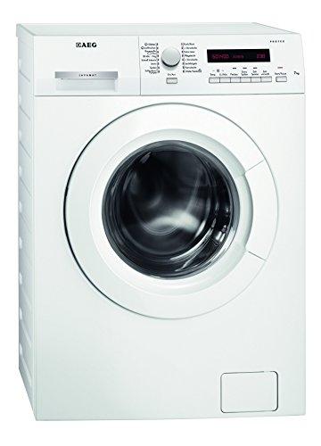 AEG L7347FL Waschmaschine / A+++ / 167 kWh/Jahr / 1400 UpM / 7 kg / Dampfprogramme / Beladungserkennung / Aqua-Control / weiß -