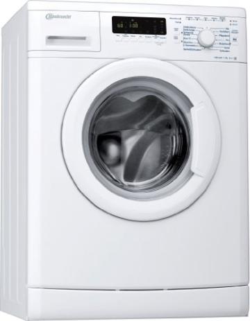 Bauknecht WA PLUS 744 A+++ Waschmaschine Frontlader / A+++ B / 1400 UpM / 7 kg / Weiß / Smart Select / Jeans Programm -