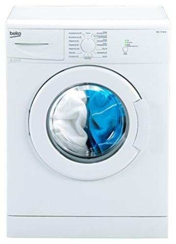 Beko WML 15106 NE Waschmaschine Frontlader / A+ / 168 kWh/Jahr / 1000 UpM / 5 kg / weiß / Programmablaufanzeige / Mini 30-Programm -