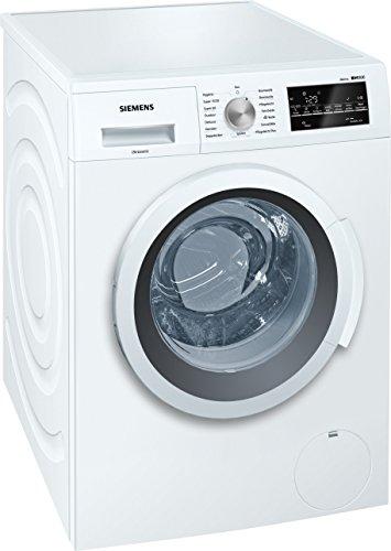 Siemens iQ500 WM14T420 iSensoric Waschmaschine A+++ / 1400 UpM / 7 kg / Weiß / VarioPerfect / Großes Display mit Endezeitvorwahl / Selbstreinigungsschublade -