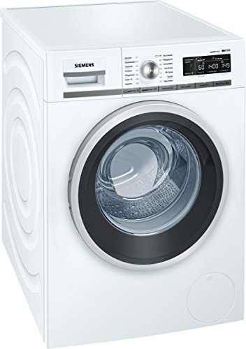 Siemens iQ700 WM14W540 iSensoric Premium-Waschmaschine / A+++ / 1400 UpM / 8 kg / Weiß / VarioPerfect / Antiflecken-System / AquaStop -