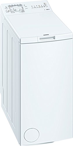 Siemens WP10R156 iQ100 Waschmaschine TL / A++ / 173 kWh/Jahr / 949 UpM / 6 kg / 8926 L/Jahr / Großes Display mit Endezeitvorwahl / weiß -